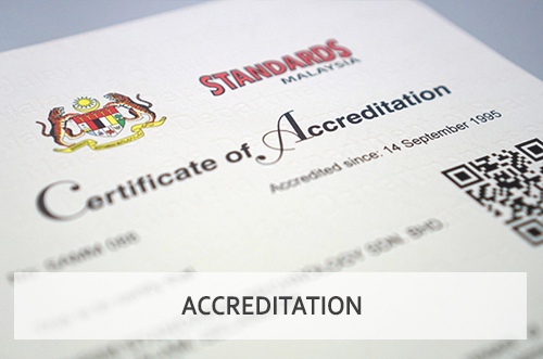 SIRIM Standards Technology Calibration Scope of Accreditation Malaysia