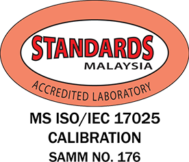 MS ISO/IEC 17025 Calibration SAMM No.176 ISO Certified Lab, SST Calibration Certificate