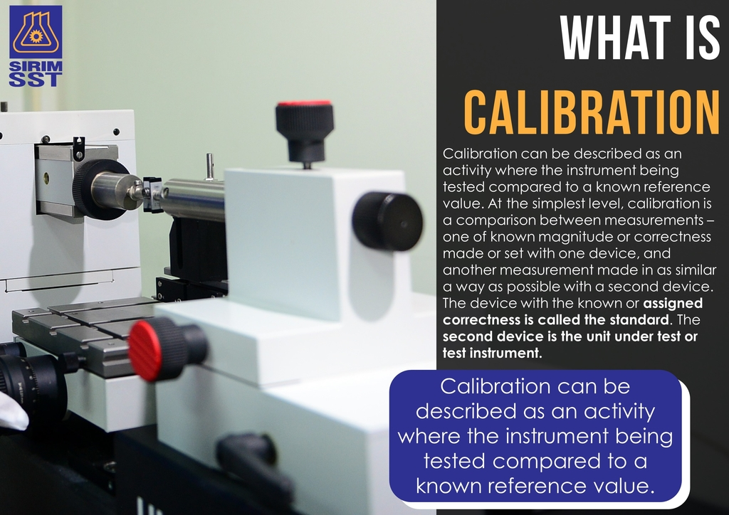 SIRIM Standards Technology What is calibration 2017